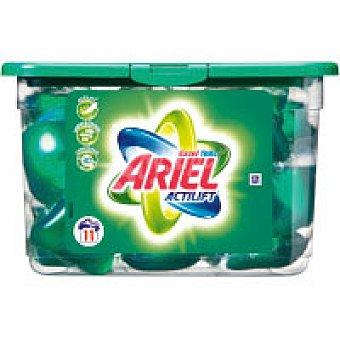 Ariel Detergente líquido cápsulas Caja 9+2 dosis