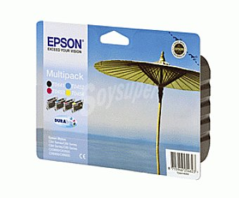 Epson Cartucho C64/84 4 Colores 4 Unidades