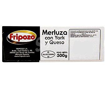 Fripozo Merluza con Jamón y Queso Pack 4 Unidades 360 Gramos