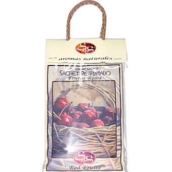 S&S ambientador para pequeños espacios de aromas naturales perfume frutos rojos bolsa 1 unidad