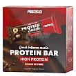 Barritas de proteínas sabor chocolate y avellanas Prozis Pack de 6 barritas 30 g