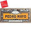 Chocolate a la taza especial Tableta 200 g Pedro Mayo