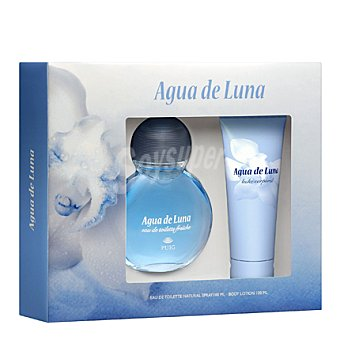 Agua de Luna Estuche Colonia spray 100ml. + body loción 100ml. 1 ud