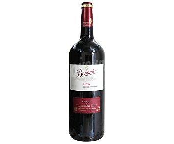 BERONIA Vino tinto crianza Botella de 1,5 litros