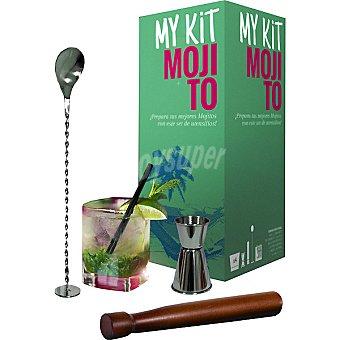 MY KIT MOJITO Set de utensilios para preparar Mojitos estuche 1 unidad estuche 1 unidad