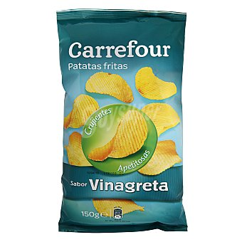Carrefour Patata fritas onduladas a la Vinagreta 150 g