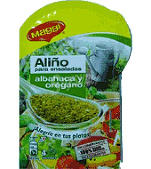Maggi Aliño ensalada albahaca 10 g
