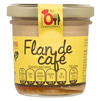 Tu Cocina Tradicional Flan de café sin gluten 110 G 110 g