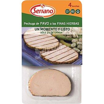 Serrano Pechuga de pavo a las finas hierbas Envase 200 g