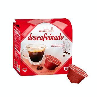 Cocatech Cafe capsula descafeinado Paquete 16 u