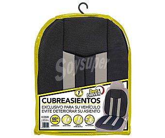 BEST DRIVER Respaldo acolchado, color negro y gris, Suzuka.