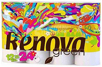 RENOVA GREEN Do Bem papel higienico ecologico doble rollo paquete 12 rollos Paquete 12 rollos