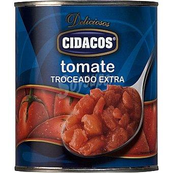 Cidacos Tomate troceado pelado Lata 820 g