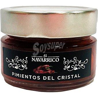 El Navarrico Pimientos de cristal asados Frasco 125 g neto escurrido
