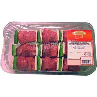 CAMPORAL Brocheta de cerdo con pimientos Bandeja 380 g