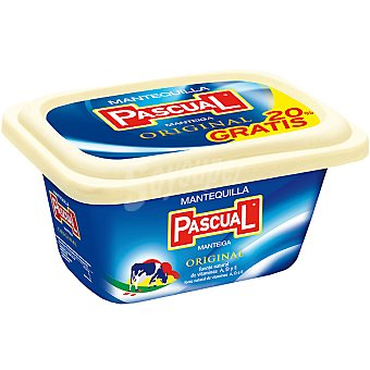 PASCUAL Mantequilla tarrina 250 g