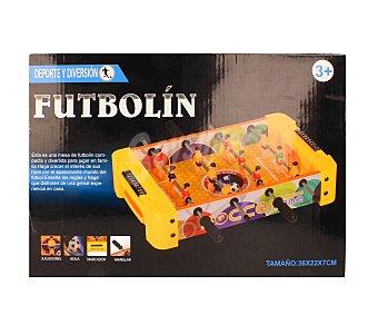 Productos Económicos Alcampo Futblín de mesa compacto y resistente, 36,5x22x27 centímetros 1 unidad