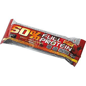 QNT 50% Full Protein barrita energética sabor fresa Envase 50 g