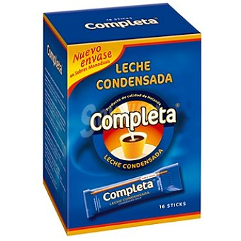Completa Leche condensada en monodosis Estuche 304 g