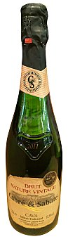 Cabre & Sabate Cava brut nature vintage Botella de 75 cl