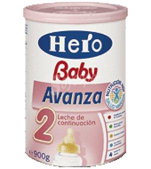 Hero Baby Leche polvo Avanza Pack de 2x800 g