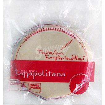 La Napolitana Masa para empanadillas medianas refrigerada Paquete 220 g