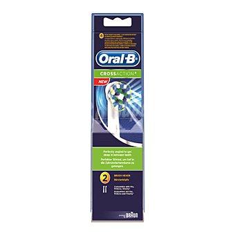 Oral-B Recambio cepillo dental eléctrico Cross action 2 ud