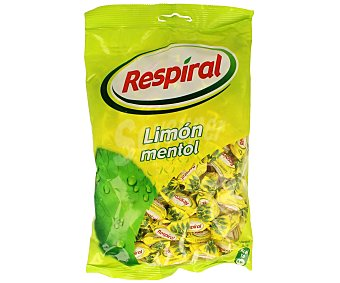 Respiral Caramelos Balsámicos de Limón Y Menta Bolsa 350 Gramos