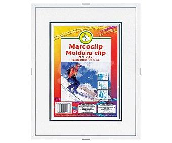 Productos Económicos Alcampo Marco con cierre clip 21x29 centímetros 1 Unidad