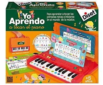 DISET Pequeño Piano Portátil 1 Unidad