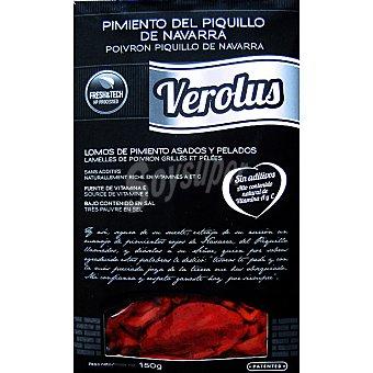 VEROLUS Pimientos del piquillo de Navarra lomos asados a la leña Estuche 150 g
