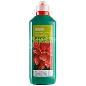 Eroski Fertilizante para plantas de flor Botella 1 litro