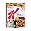 Cereales con chocolate suizo negro, bajos en calorías special K 375 g Special K Kellogg's