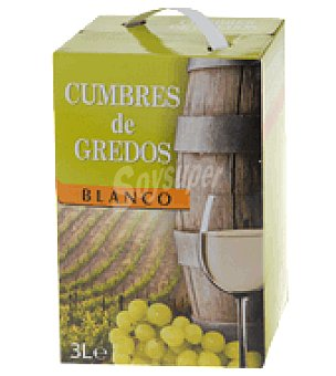 Cumbres de Gredos Vino blanco bag in box 3 l