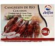 Cangrejos de río cocidos Caja 500 g Delfín