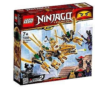 LEGO Ninjago 70666 Juego de construcción Dragón dorado con 171 piezas, Ninjago 70666 lego.