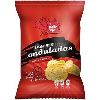 El Gallo Rojo Patatas fritas onduladas Bolsa 160 g