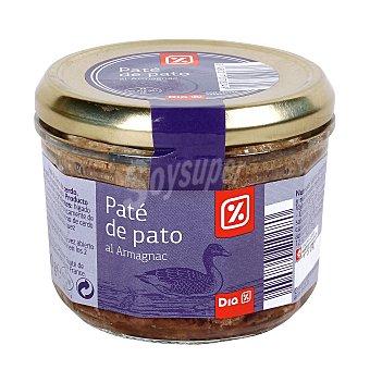 DIA Paté de pato tarro 180 gr Tarro 180 gr