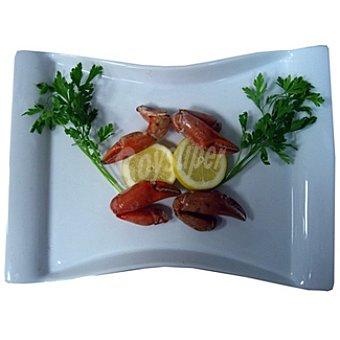 Bocas de cangrejo crudas pequeñas