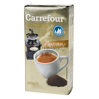 Carrefour Café Molido Natural 250 g