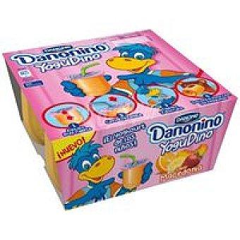 Danonino Danone Yogudino de macedonia Pack 4x85 g