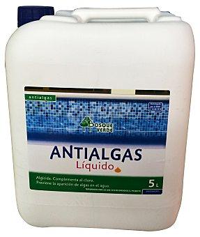 BOSQUE VERDE Piscina antialgas líquido Garrafa de 5 l