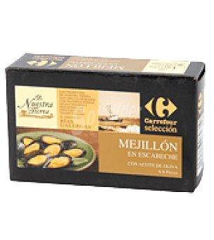 Carrefour Selección Mejillón en escabeche 115 g