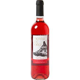 Tierra de oro Vino rosado D.O. Navarra elaborado para grupo del El Corte Ingles botella 75 cl Botella 75 cl