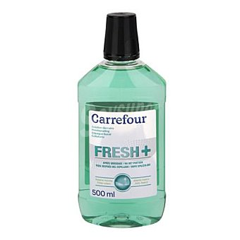 Carrefour Enjuague bucal con fluor Carrefour 500 ml