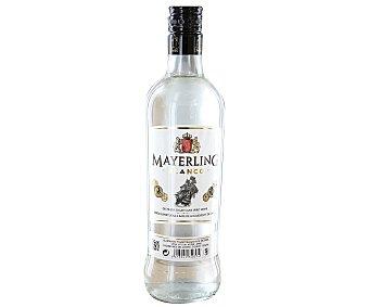 MAYERLING Bebida espirituosa blanca a base de aguardiente de caña Botella de 70 centilitros