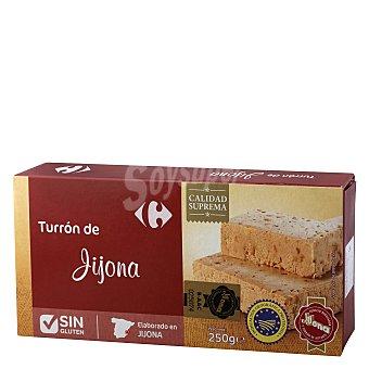 Carrefour Turrón blando sin gluten 250 g