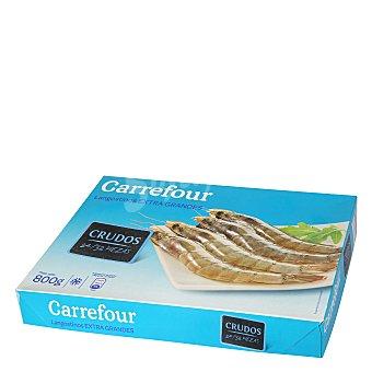 Carrefour Langostino extra grandes crudos 800 g