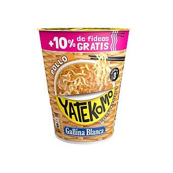 Gallina Blanca Fideos orientales yatekomo pollo vaso 66 gr Vaso 66 gr