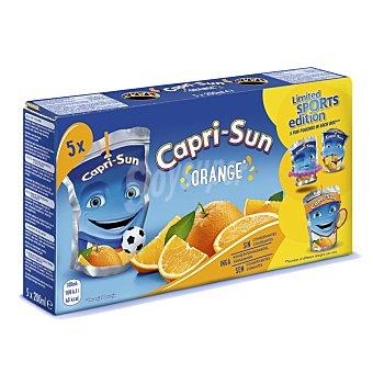 Capri-Sun Bebidas de zumo de naranja orange Pack 5 bolsitas x 200 ml